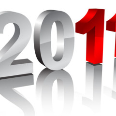 Illustrator Tutorial: new year digits