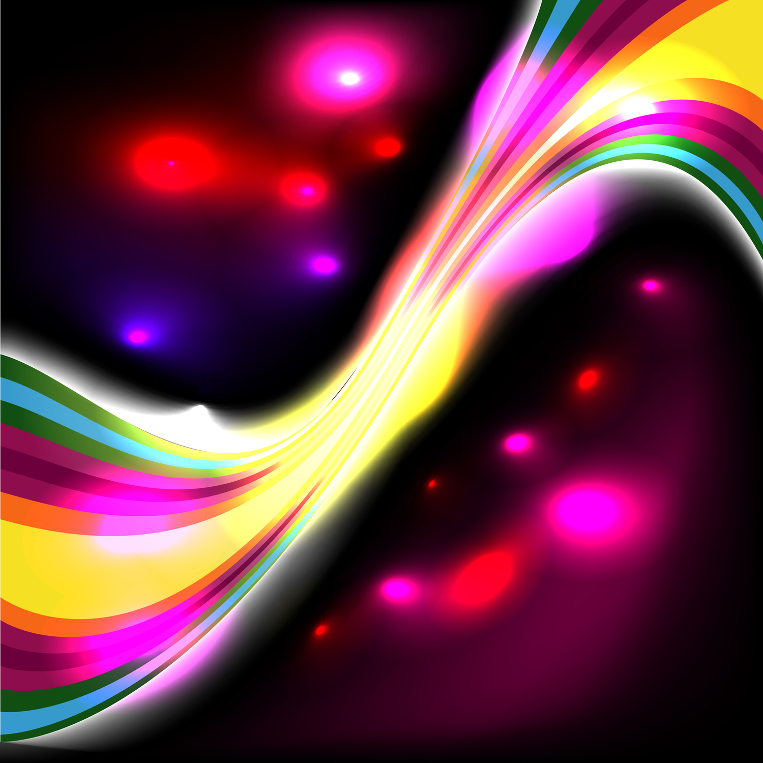 How To Make Abstract Glowing Effect In Illustrator