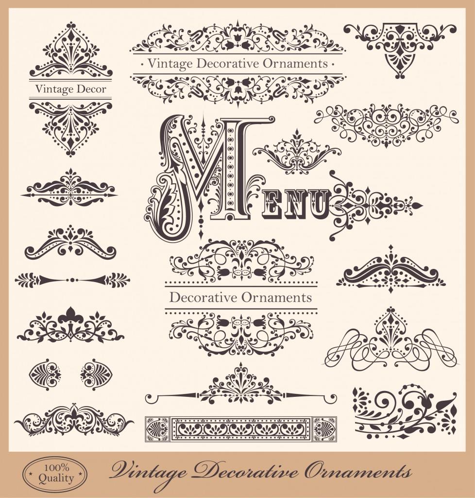 Free Calligraphic Vectors