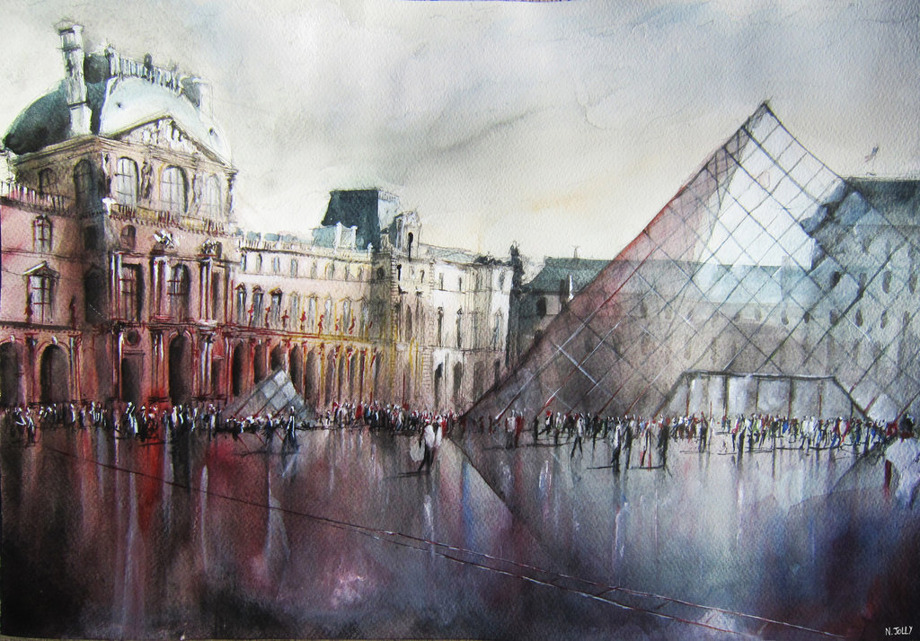 Greatest Beauty in Obscurity - Paintings by Nicolas Jolly | Design  TO73