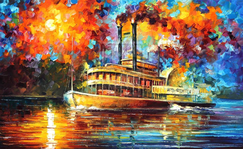 oil on canvas paintings by leonid afremov