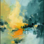 Abstract Art Paintings by Gerard Mursic