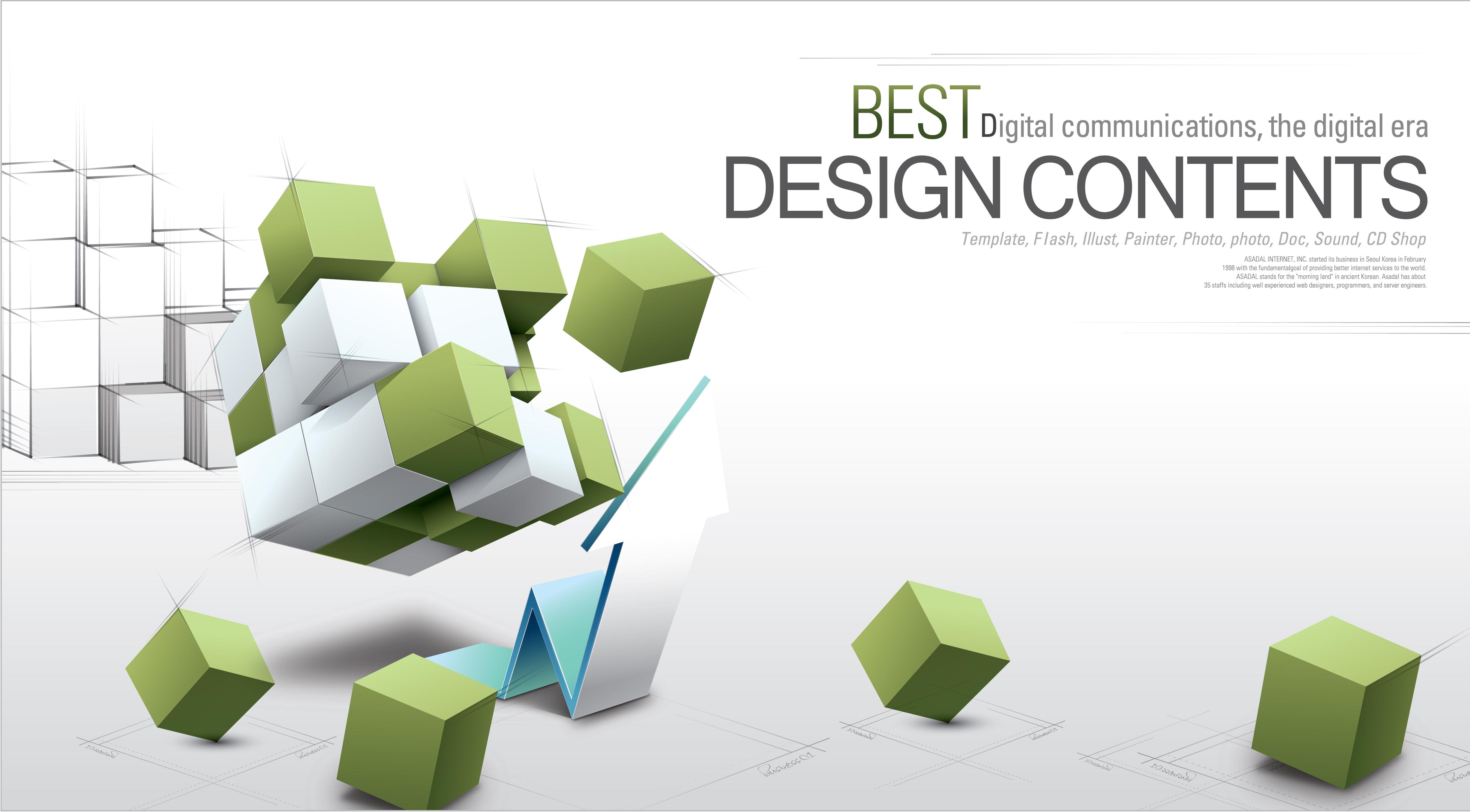 Vector Illustration Web Designs: Creative Vector Illustrations