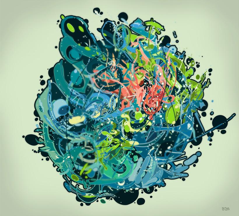 Digital Art by Evgeny Kiselev