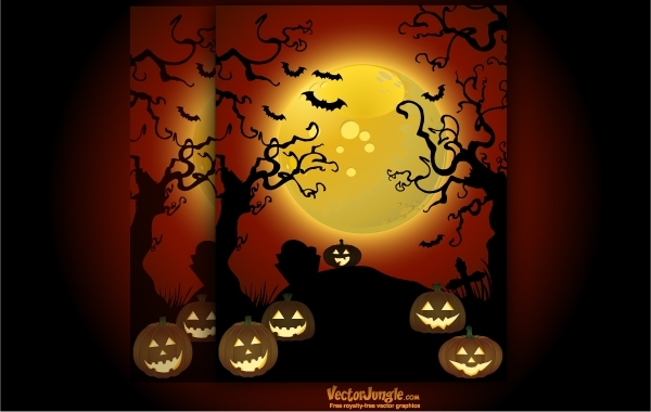 0eb622646d6bb84b62cec6c6a1701909-spooky-halloween-art-with-creepy-trees