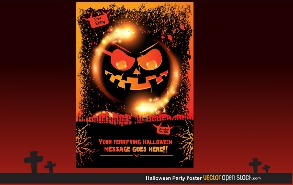 3859373b54dec41b17c1c4064f8cccc6-halloween-party-poster