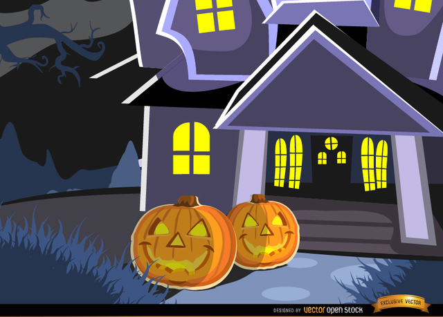 771b94cdfb0e81afc51d1389f2983a2e-haunted-mansion-and-pumpkins-background