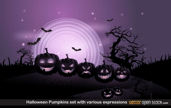 7e5b317066d35cd84baf85d21b16a7cf-halloween-pumpkins-set-with-various-expressions