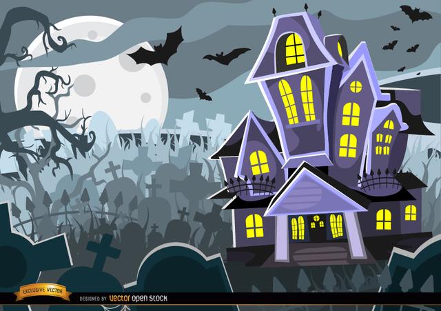 c583a5284ab76d731e094a273fdb4d67-halloween-haunted-mansion-graveyard-background