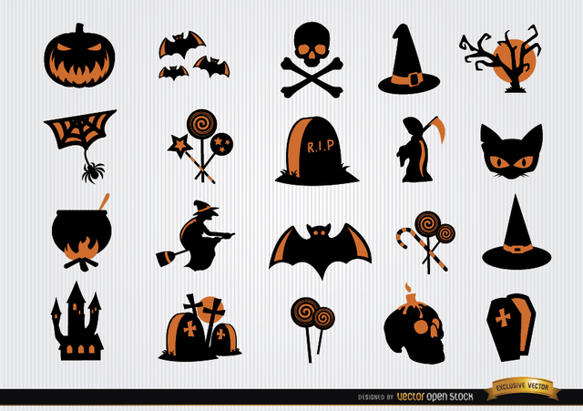 ea99991909179a9720abae90e151afd5-halloween-scary-symbols-icon-set