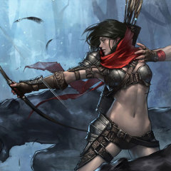 Kick-Ass Illustrations of Warrior Women