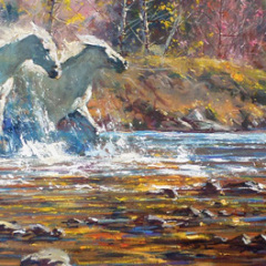 A Glimpse of the Old West – Paintings by Robert Hagan