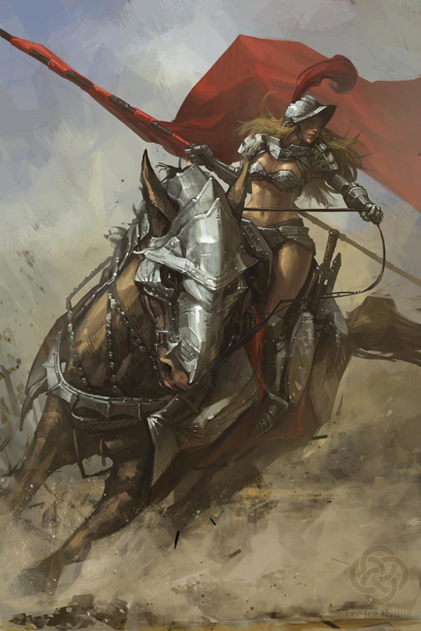 Kick Ass Illustrations Of Warrior Women Vexels Blog