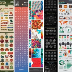 +2500 Vector Resources in Freebies Collection by VectorOpenStock