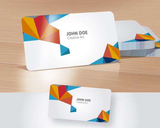 business card mock up for portfolios