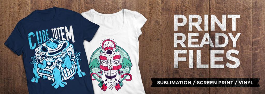 Favori Fun Monster T-Shirt Pack PRINT READY + License | Design  FB53