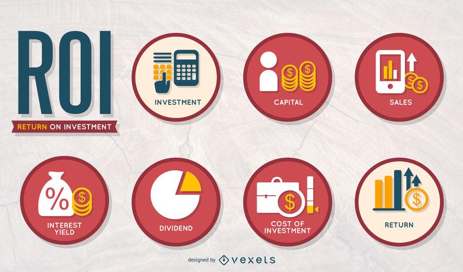 ROI Icons Set
