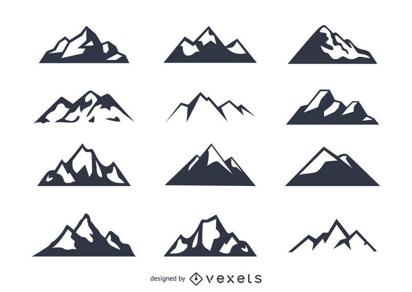Minimal Mountains Set