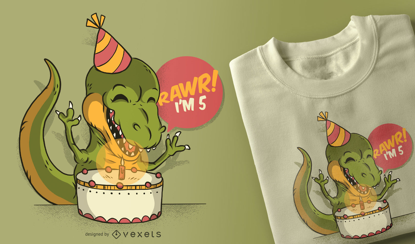 birthday t-shirt design
