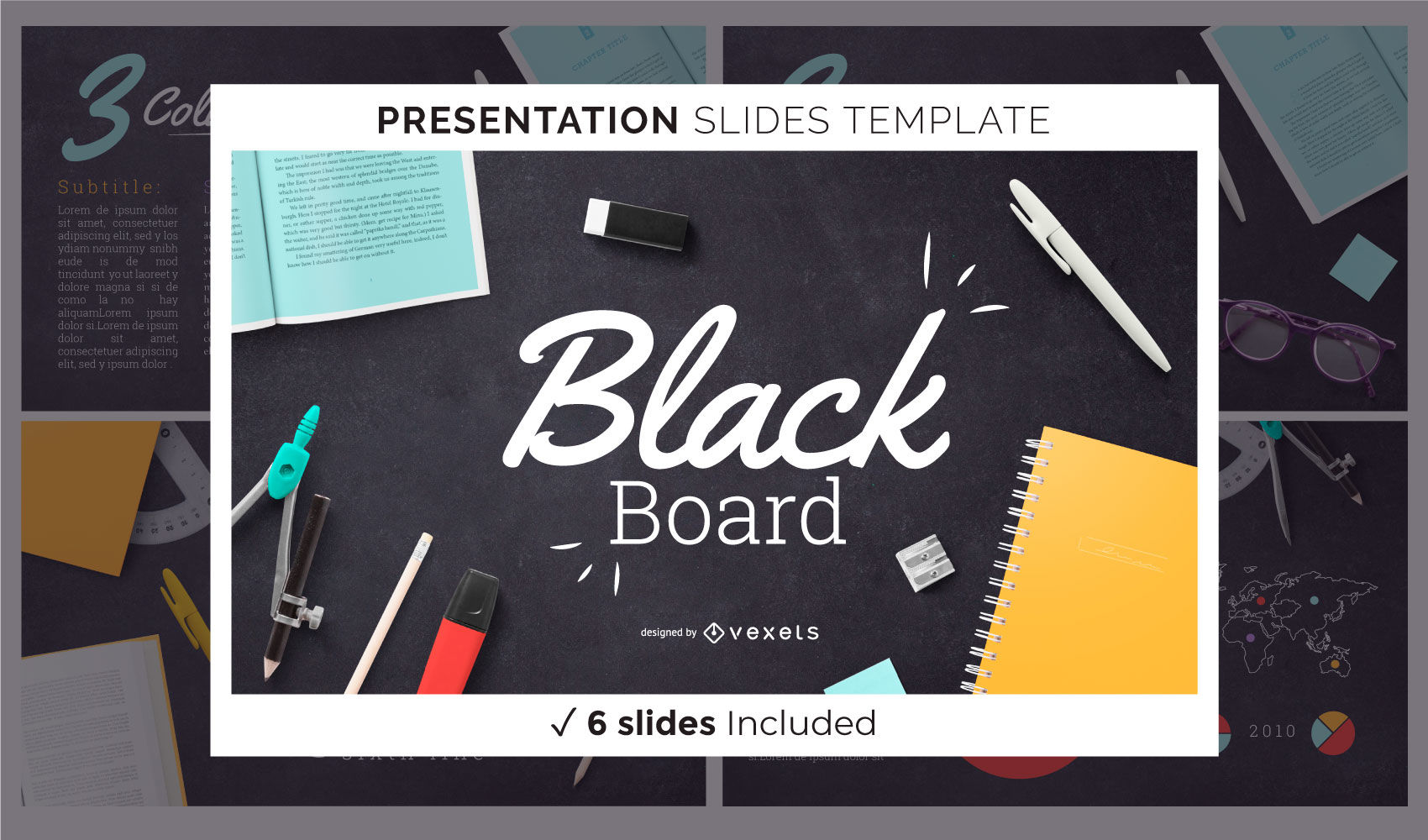 Education Blackboard Presentation Template