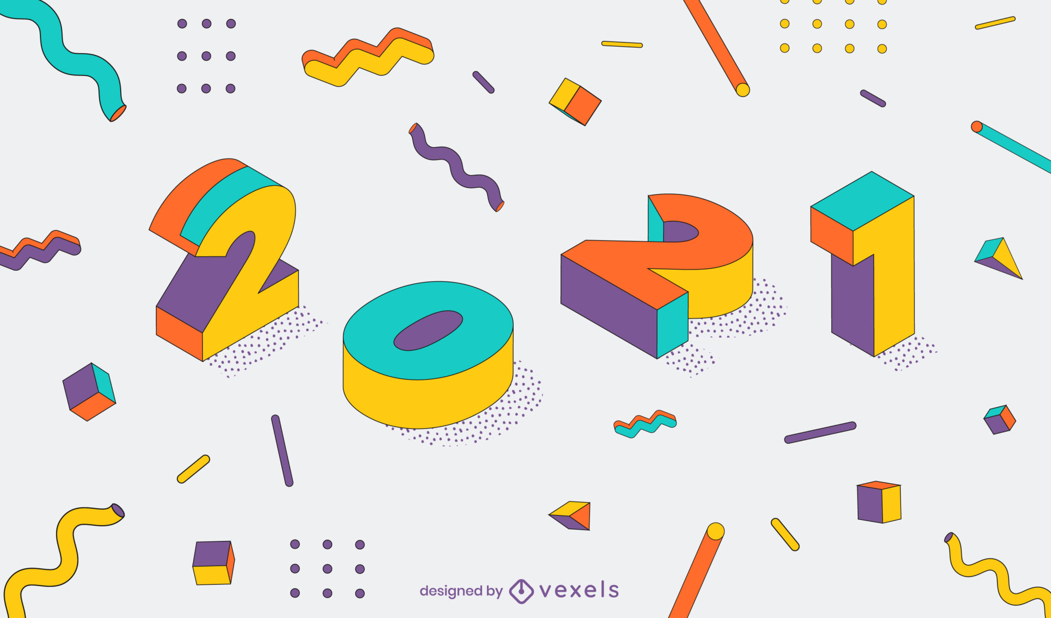 5 new graphic design trends for the new 2021