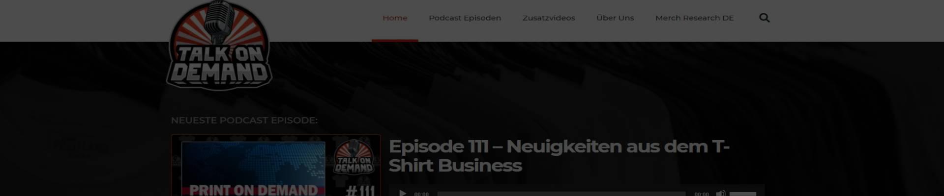 Merch Interview: Talk on Demand
