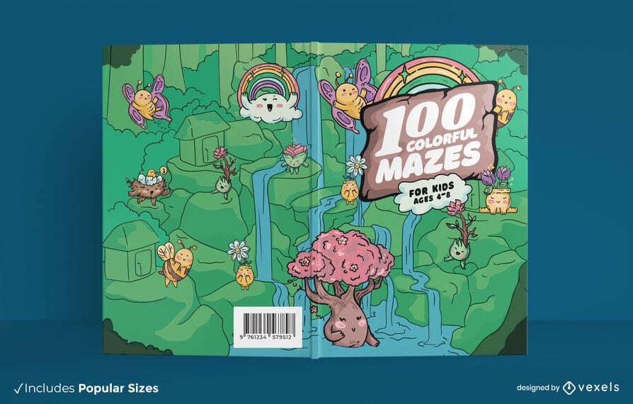 Maze activity book