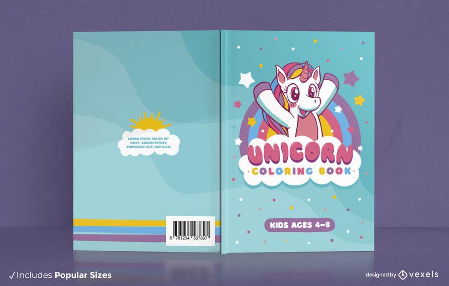 Unicorn KDP book cover